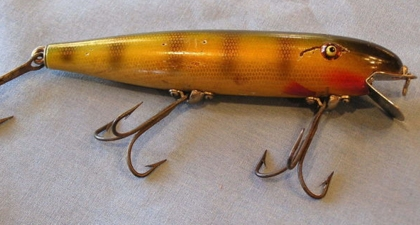 Pflueger pal o mine old antique fishing lures tackle for Old fishing lures worth money