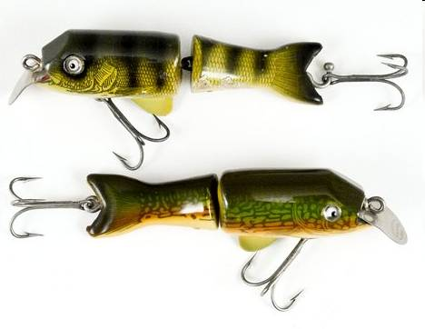 Shakespeare tantalizer old antique fishing lures tackle for Old fishing lures worth money