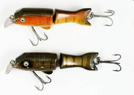 Shakespeare tantalizer old antique fishing lures tackle for Old fishing rods worth money