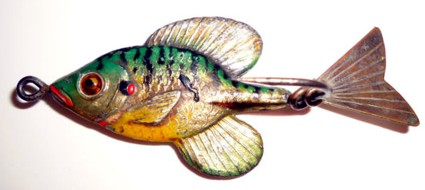 Fred Arbogast Tin Liz Sunfish