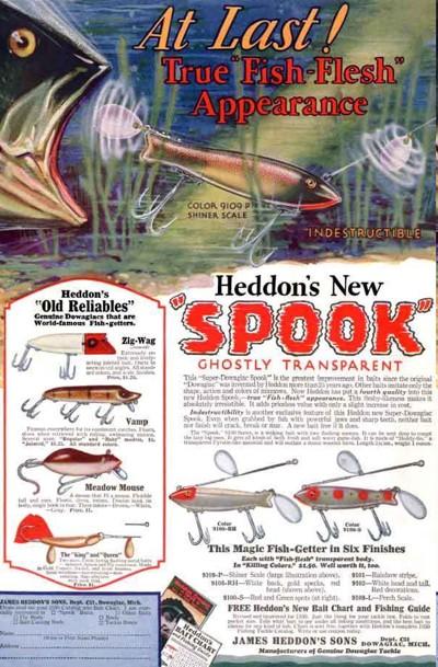 Heddon Dowagiac Spook Ad